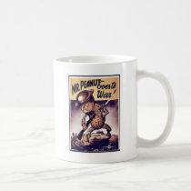 Mr. Peanut Goes To War Coffee Mug