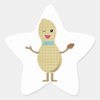 Mr. Peanut Star Stickers