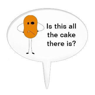Mr. Peanut the Monster Cake Topper