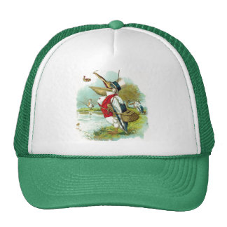 MR PELICAN FISHING TRUCKER HAT