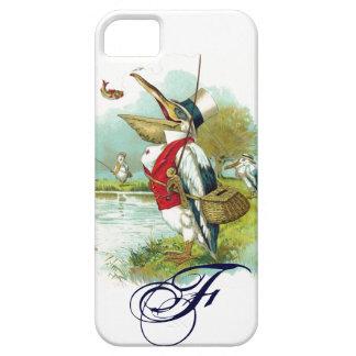 MR PELICAN FISHING MONOGRAM iPhone SE/5/5s CASE