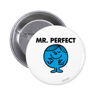 Mr Perfect Classic Pinback Buttons