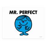 Mr Perfect Classic Postcard
