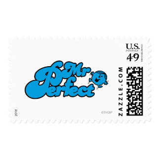 Mr. Perfect | Large Blue Letters Postage