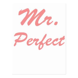 Mr. Perfect Postcard