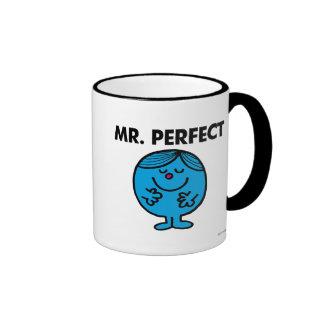 Mr. Perfect | Quietly Content Ringer Coffee Mug