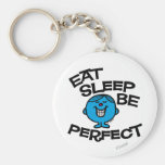 Mr. Perfect's Plan For Life Keychain