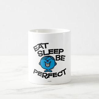 Mr. Perfect's Plan For Life Basic White Mug