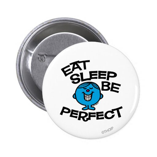 Mr. Perfect's Plan For Life Pinback Button