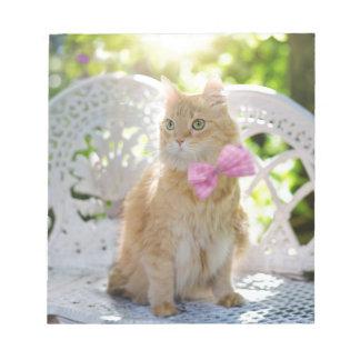 Mr Perkins Proper Kitty Notepad