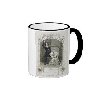 Mr Phelps as Hamlet and Miss Glyn as Queen Gertrud Coffee Mugs