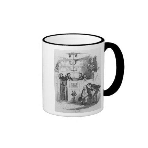 Mr. Pickwick and Sam in the attorney's office Mugs