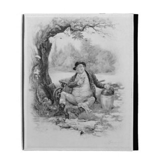 Mr Pickwick, from 'Charles Dickens: A Gossip about iPad Folio Case