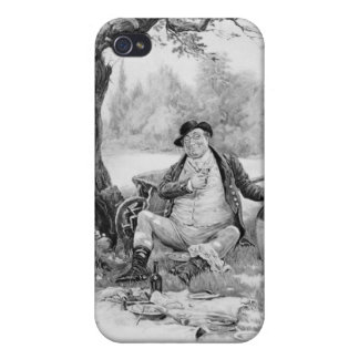 Mr Pickwick, from 'Charles Dickens: A Gossip about iPhone 4/4S Cover
