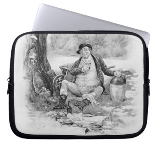 Mr Pickwick, from 'Charles Dickens: A Gossip about Laptop Sleeves
