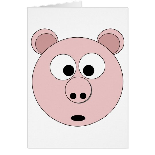 Mr Pig the 1st Card