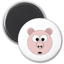 Mr Pig the 1st Magnet