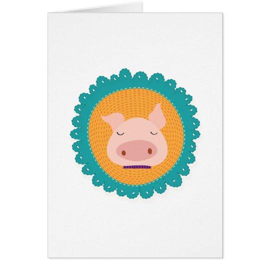 Mr Piggy Card