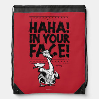 Mr. Ping - HAHA! In Your Face! Drawstring Backpack