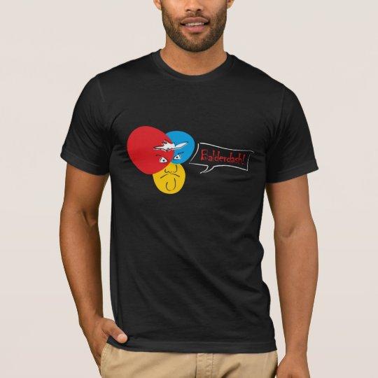 Mr.Pique Balderdash dark t-shirt