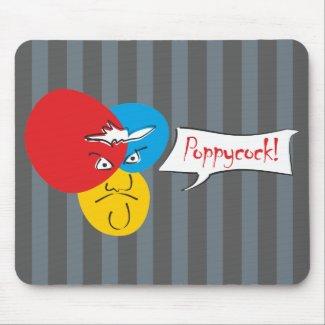 Mr.Pique Poppycock mousepad mousepad