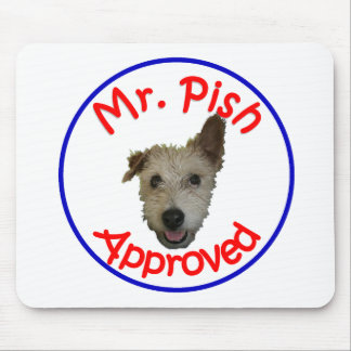 Mr Pish Approved Gear Mouse Pad