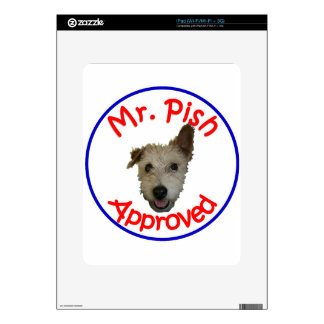 Mr Pish Approved Gear Skin For iPad