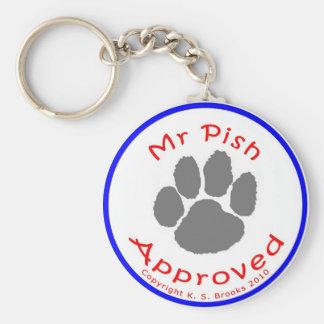 Mr. Pish Approved Keychain