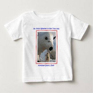 Mr. Pish at Antelope Island 2011 Official Gear Infant T-shirt