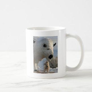 Mr. Pish at Antelope Island Coffee Mug