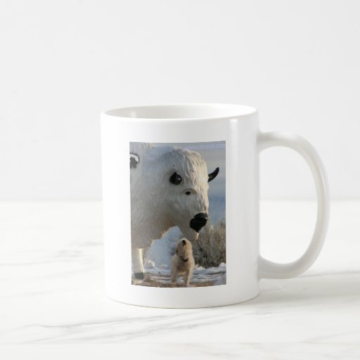 Mr. Pish at Antelope Island Classic White Coffee Mug