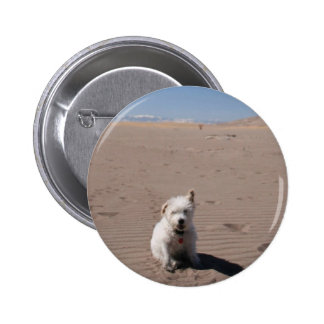 Mr. Pish at Great Sand Dunes National Park Button