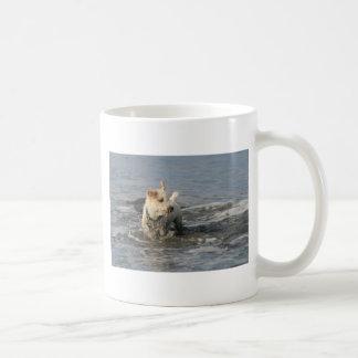Mr. Pish at Ruby Beach Classic White Coffee Mug