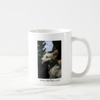 Mr. Pish Enjoys the Summer Breeze! Coffee Mugs