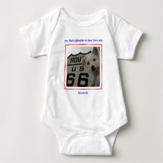 Mr. Pish on Route 66 Official Gear Baby Bodysuit