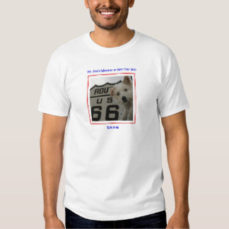 Mr. Pish on Route 66 Official Gear Tshirt