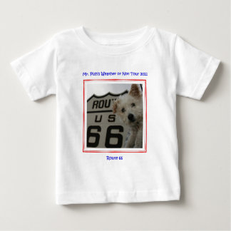 Mr. Pish on Route 66 Official Gear Tshirts