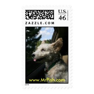 Mr. Pish Summer Breeze Postage Stamps