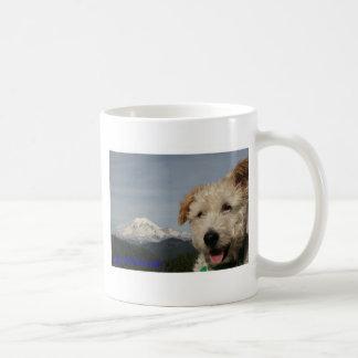Mr. Pish Visits Mt. Rainier Coffee Mug