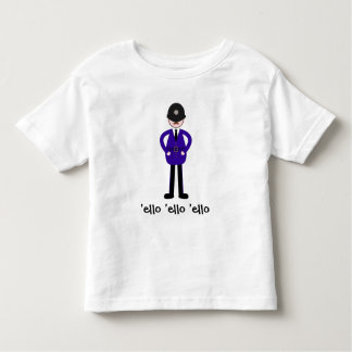 Mr Plod The Policeman Toddler T-shirt