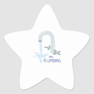 Mr Plumbing Sticker