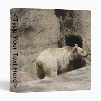Mr Polar Bear 3 Ring Binder