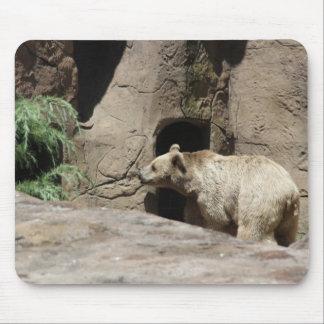 Mr Polar Bear Mouse Pad