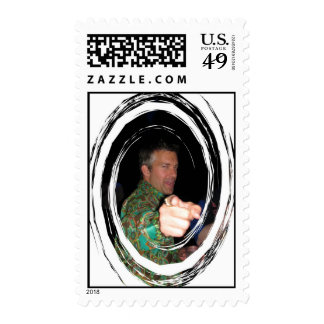 Mr Polyester Swirl Postage Stamps