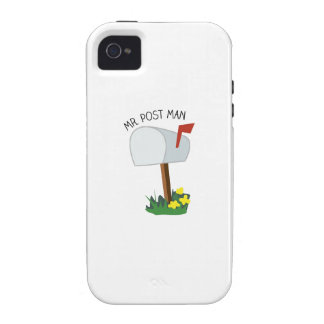 Mr, Post Man iPhone 4 Cover