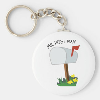 Mr, Post Man Keychain