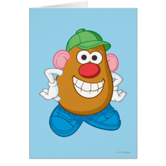 Mr. Potato Head Card