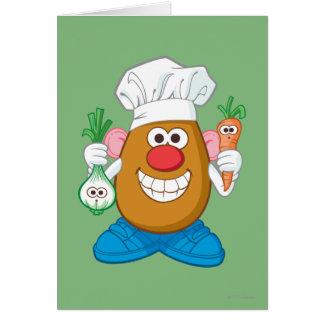 Mr. Potato Head - Chef Card