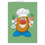 Mr. Potato Head - Chef Greeting Card