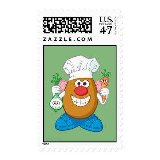 Mr. Potato Head - Chef Postage Stamp